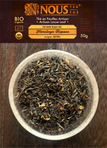 Himalaya repose - organic afternoon black tea - Artisan collection