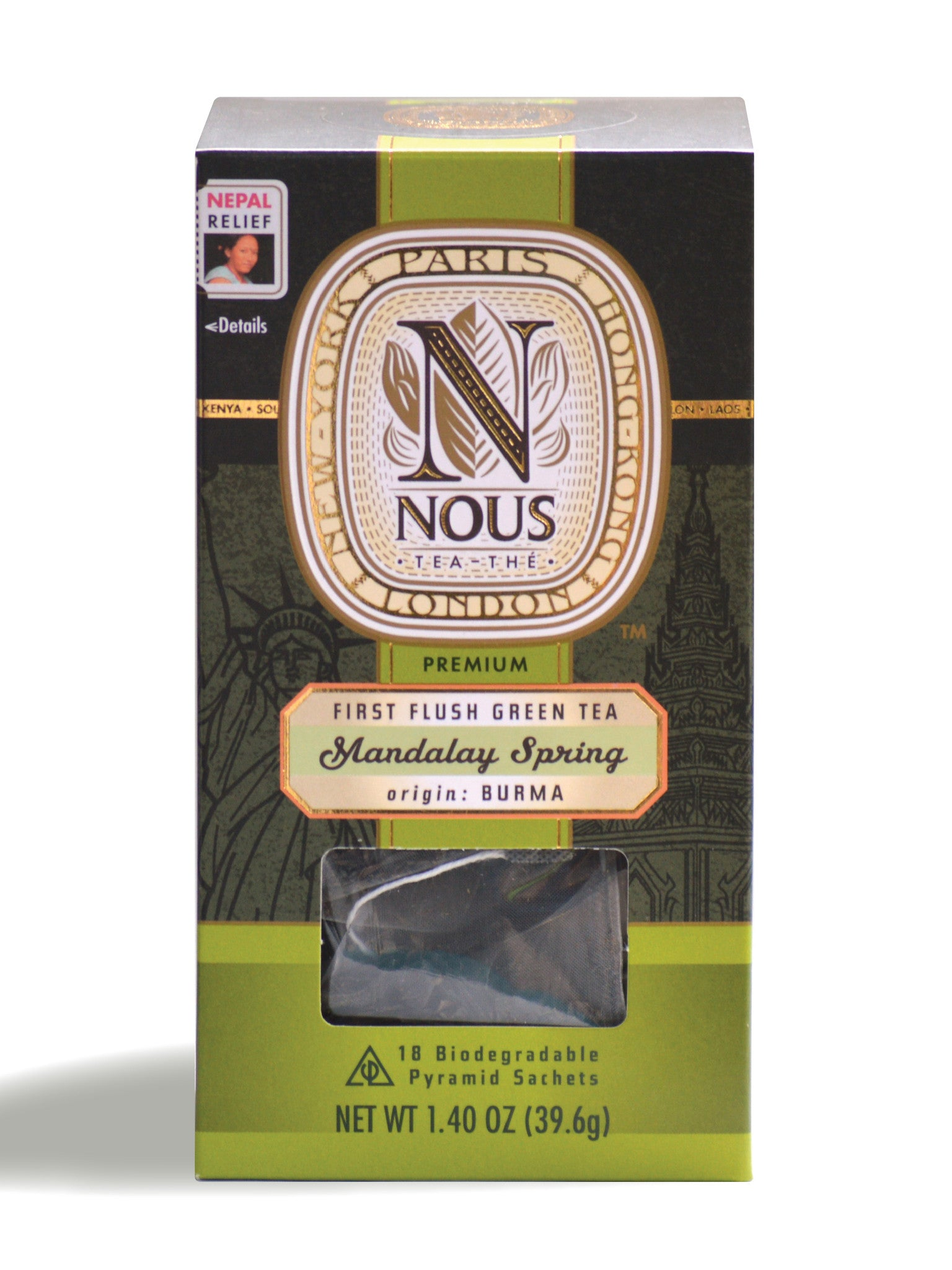 Mandalay Spring - NOUS Tea