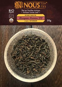 Rangoon sunrise black organic breakfast tea - Artisan collection
