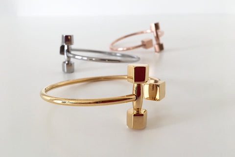 Dumbbell Bangle