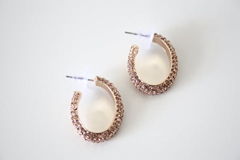 Oval hoops champagne