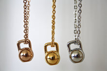 Load image into Gallery viewer, Kettlebell necklace - Atelier Kollee
