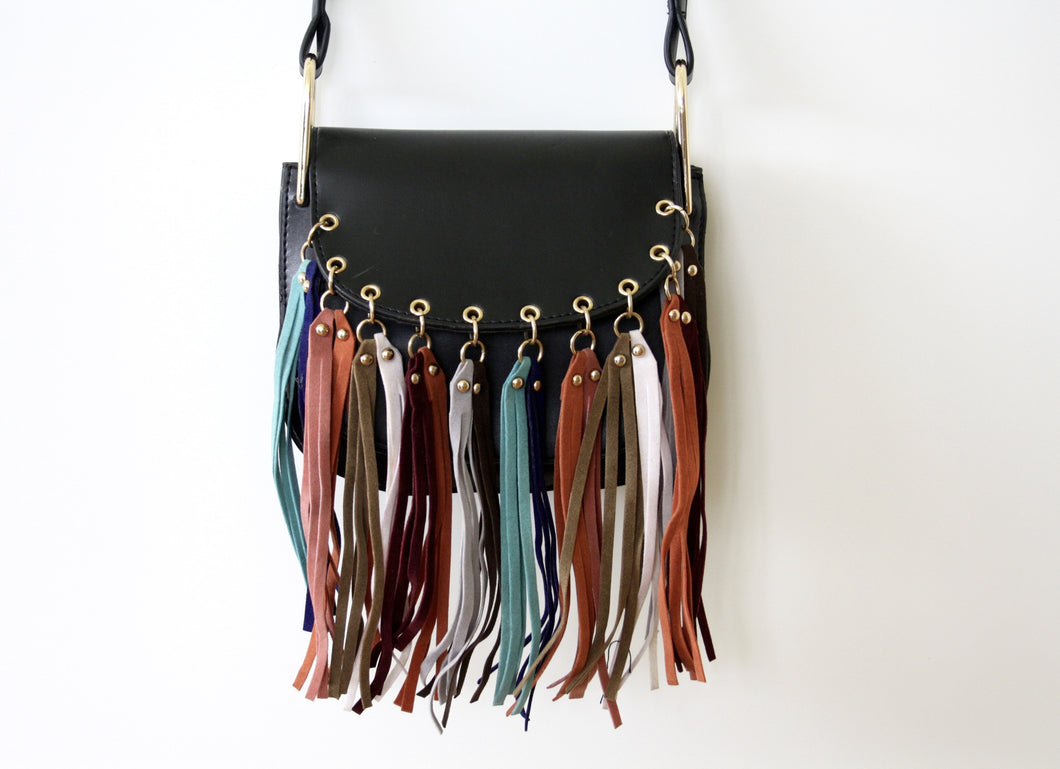 Fringe Saddle Bag - Atelier Kollee