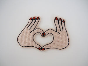 Hand patch