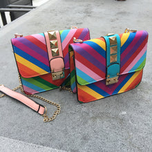 Load image into Gallery viewer, Rainbow bag