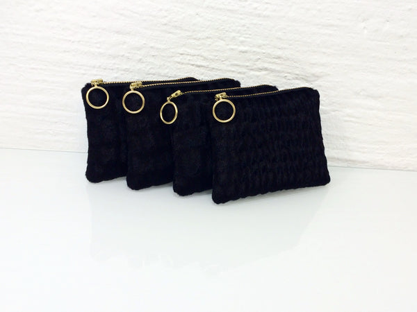 Wallet Golden Black Mini