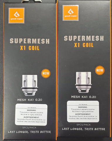 Geekvape - Supermesh X1 0.2ohm Coils