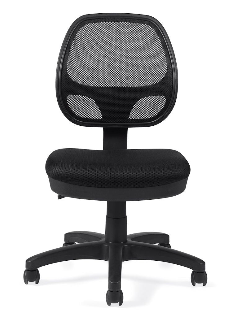 OfficesToGo OTG11642B Mesh Back Task Chair Without Arms  ...