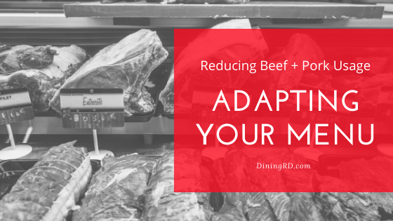 Adapting Your Menu with Market Changes