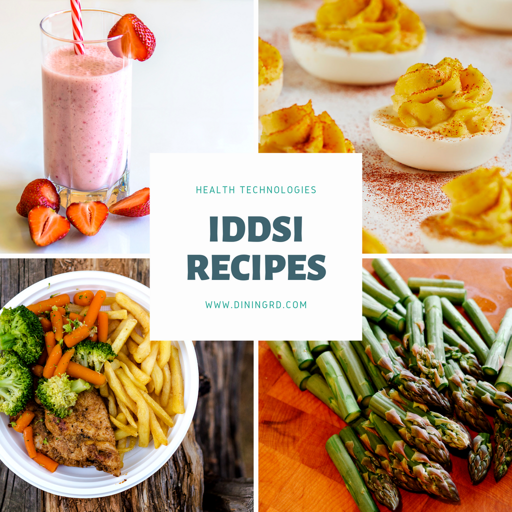Recipe Modifications for IDDSI