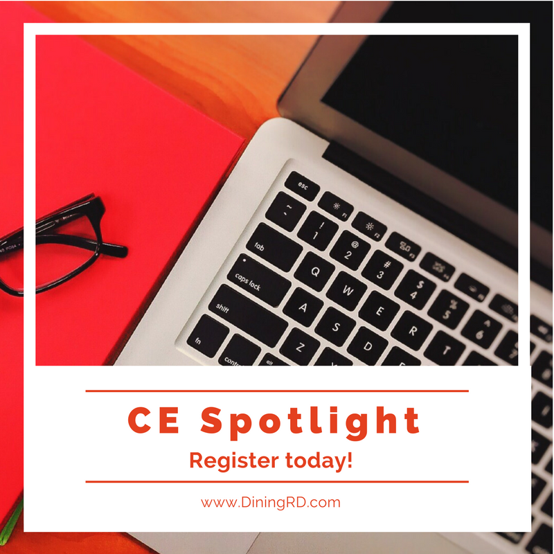Announcing the CE Spotlight Series for 2018!