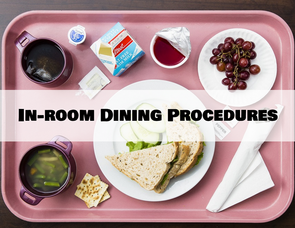 In-room Dining Procedures