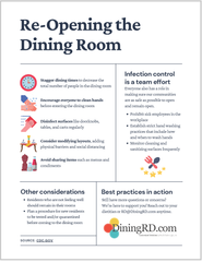 Dining Room Reopening