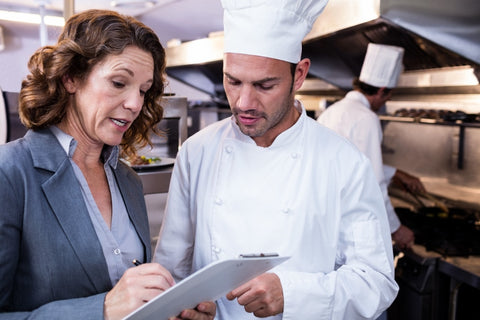 Foodservice kitchen inspection