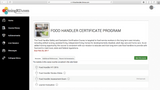 Online Food Handler Certificate Program