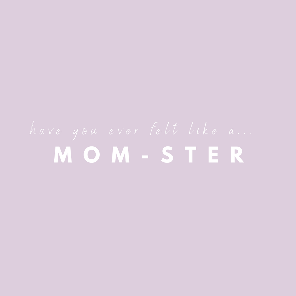 """Do you ever feel like a MOM-STER??⁠⠀"