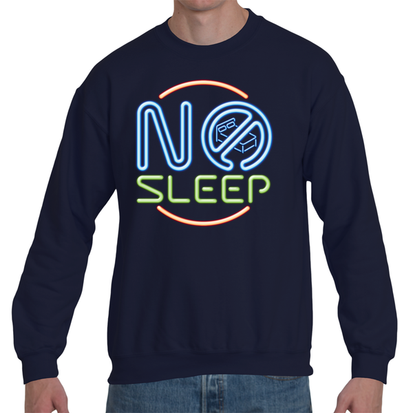 Black No Sleep Sweatshirt