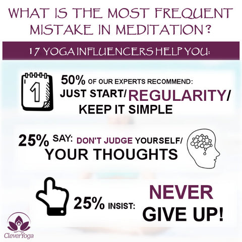 Yoga Influencers Meditation Infographics