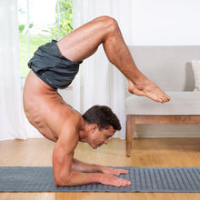 Load image into Gallery viewer, Clever Yoga Non Slip Yoga Mat Towel with Unique Silicone Design