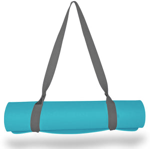 Clever Yoga Thick Durable Yoga Mat Strap Carrier