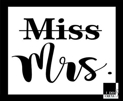 Miss To Mrs Bridal Party T-Shirt For Bride Squad Maid Of Honor Bridesmaid