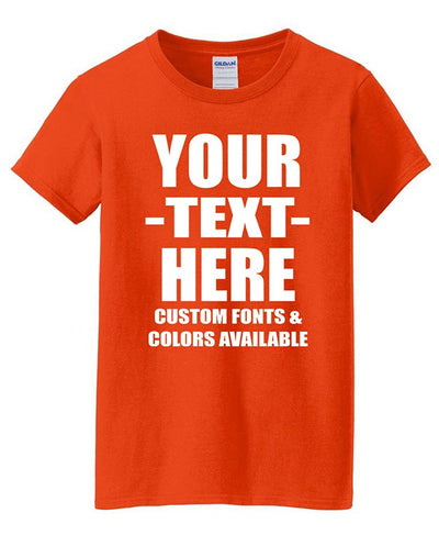 T-Shirts - Custom T-Shirts - Make Your Own Design