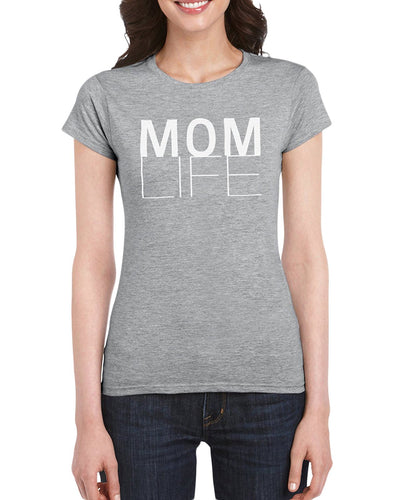Mom Life T-Shirt Gift Idea For Women - Unique Birthday Present