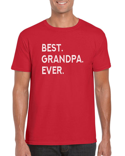 The Red Garnet Best Grampa Ever. T-Shirt- Gift Idea For Grandpa