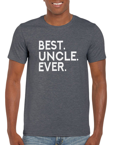 The Red Garnet Best Uncle Ever T-Shirt Gift Idea For Family