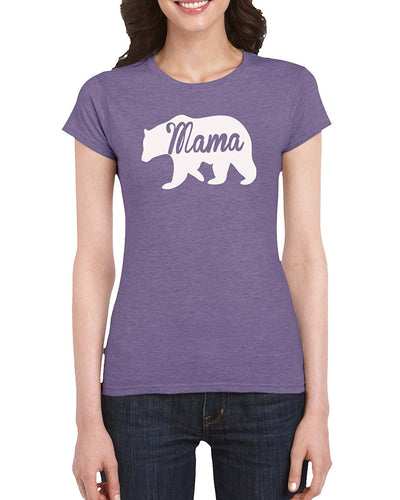 The Red Garnet Mama Bear Graphic T-Shirt Gift Idea For Women - Unique Birthday Present