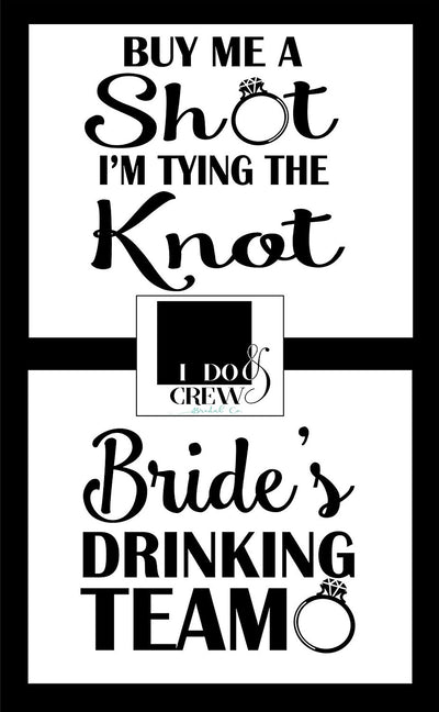 Bridal Party T-Shirt For Bride Bachelorette Maid Of Honor Bridesmaid Bride Squad