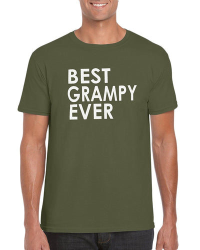 The Red Garnet Best Grampy Ever T-Shirt- Gift Idea For Grandpa - Pregnancy Announcement