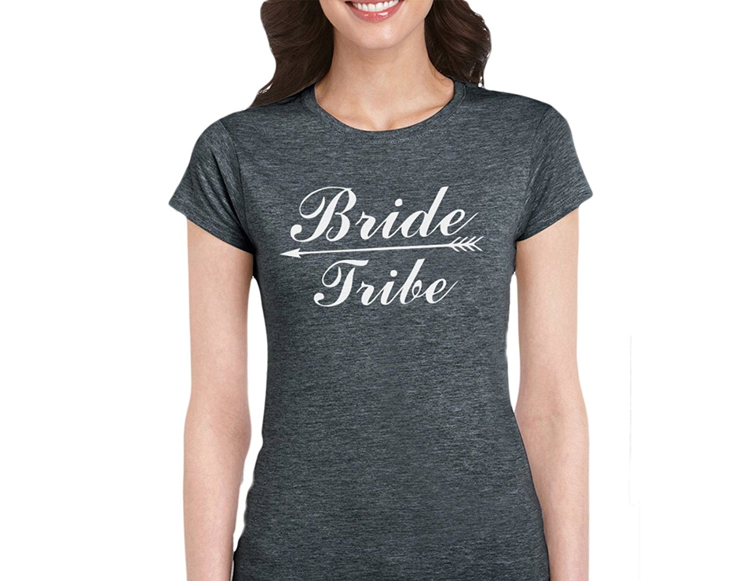 1d38eda16 Bride Tribe-Bridal Party T-Shirt For Bride Squad Maid Of Honor Bridesmaid