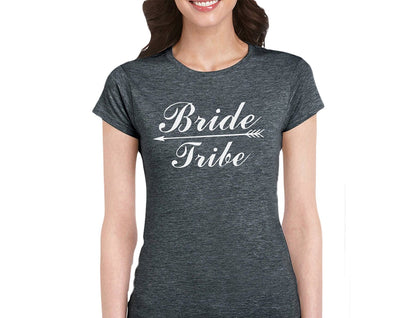 Bride Tribe-Bridal Party T-Shirt For Bride Squad Maid Of Honor Bridesmaid