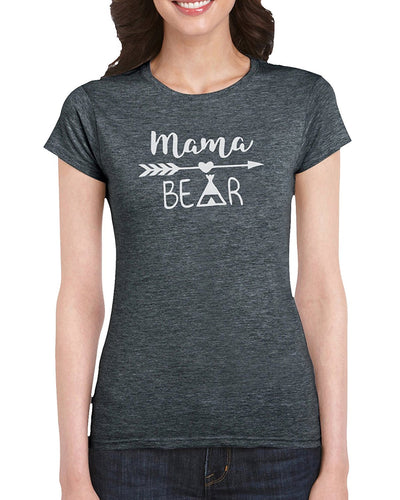 The Red Garnet Mama Bear Indian Graphic T-Shirt Gift Idea For Women