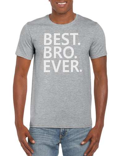 The Red Garnet Best. Bro. Ever. Graphic T-Shirt Gift Idea For Men