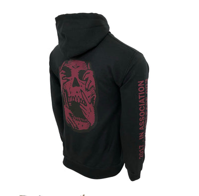 The Weeknd XO Saturnal Red Skull Hoodie