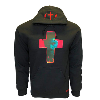 The Weeknd Red cross Starboy Hoodie