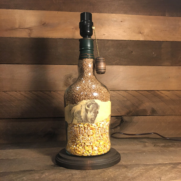 Buffalo Trace Bourbon Bottle Lamp (1.75 liter)