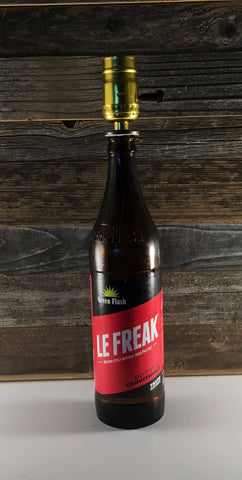 Green Flash Le Freak Beer Lamp