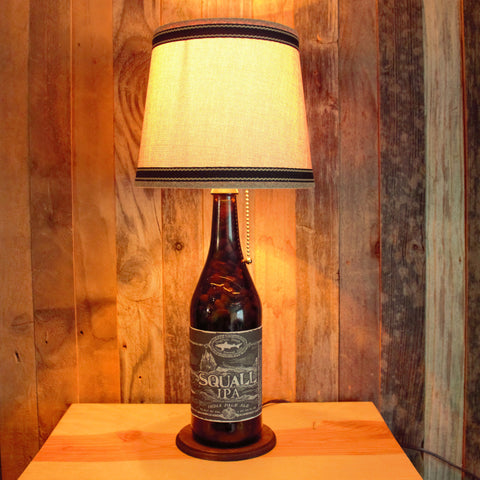 Dogfish Head Bottle Lamp