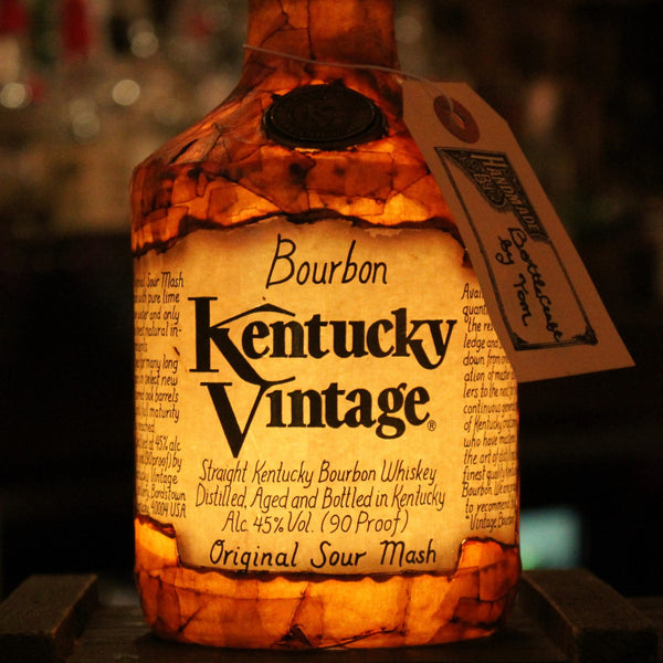 Kentucky Vintage Bourbon Bottle Light
