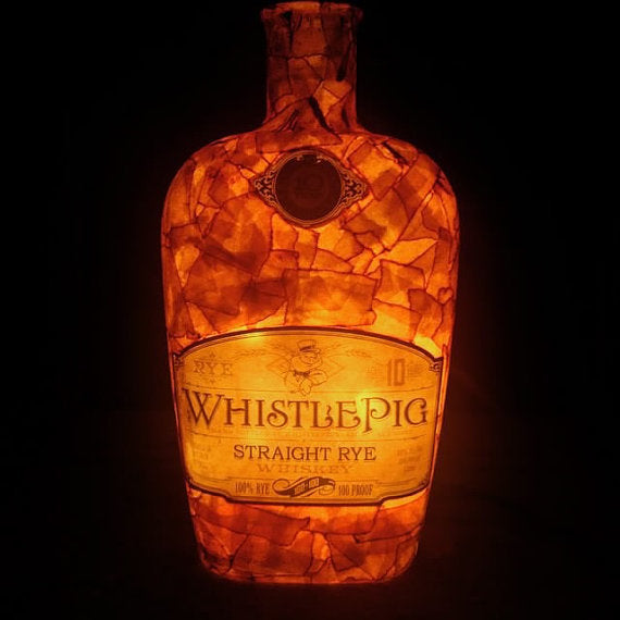 Whistle Pig Whiskey LED Bottle Light