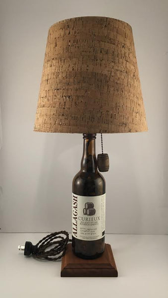 Allagash Curieux Beer Lamp - BottleCraft By Tom