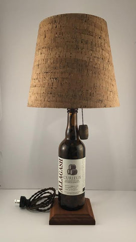 Allagash Curieux Beer Lamp
