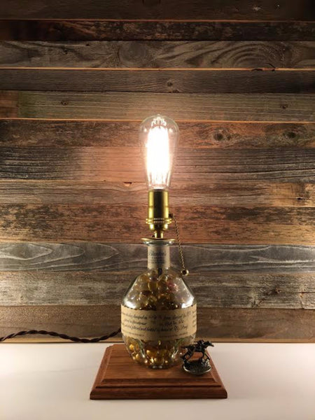Blanton's Bourbon Lamp - BottleCraft By Tom