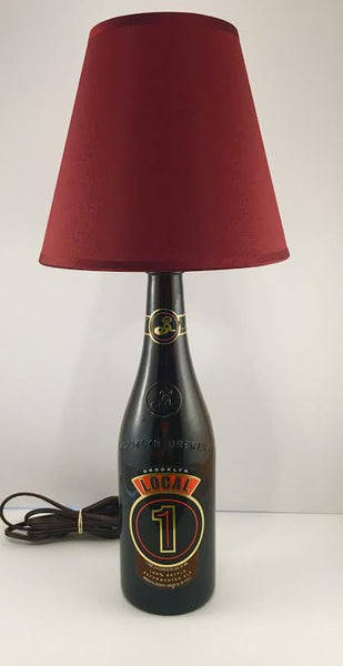 Brooklyn Local 1 Beer Lamp - BottleCraft By Tom