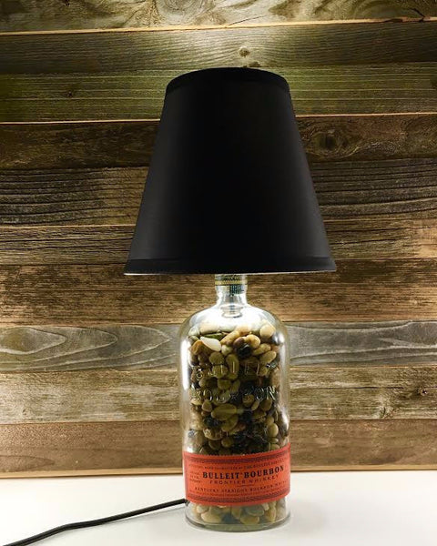 Bulleit Bourbon Lamp - BottleCraft By Tom
