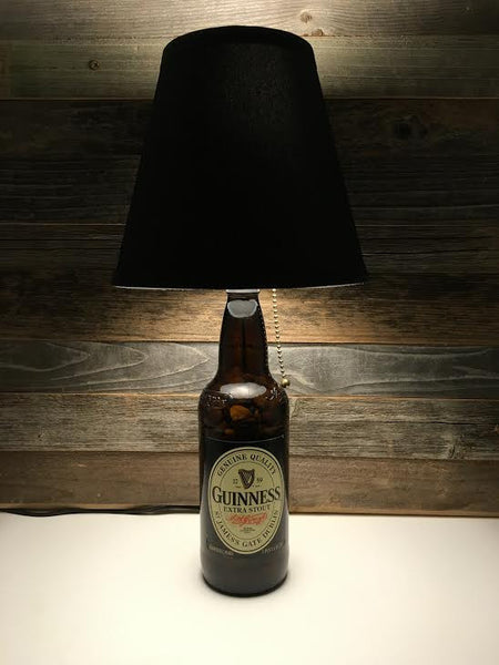 Guinness Beer Lamp - BottleCraft By Tom