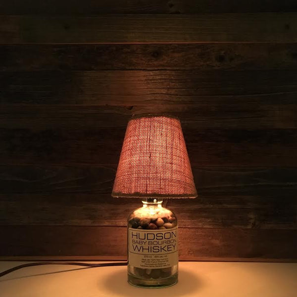 Hudson Baby Bourbon Whiskey Lamp - BottleCraft By Tom